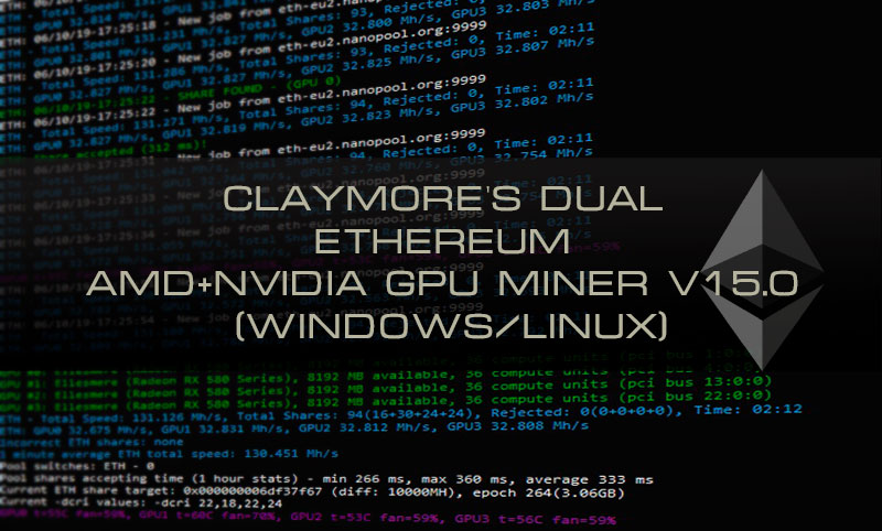 Клеймор майнер: Скачать и настроить V15.0 (AMD и NVIDIA)