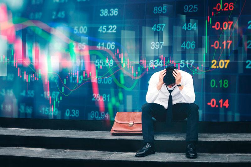 Падение криптовалюты