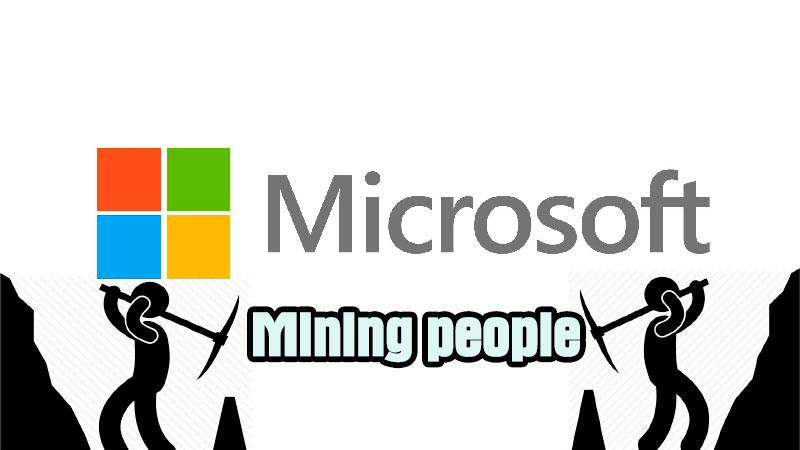 Microsoft-Mining-people